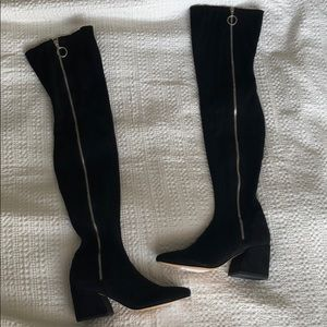 Brand New* Dolce Vita Over the knee black Boots